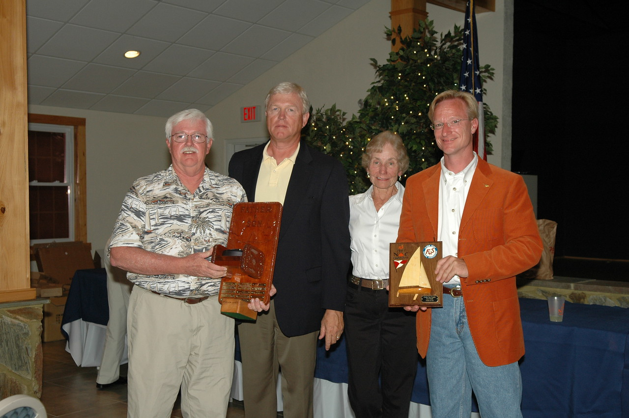 Father/Son trophy awarded to the best sailed boat with a father and son on board with one as a skipper 4/341 Ronald Pletsch/Dan Pletsch