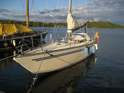 Blue Ribbon sales and first sail