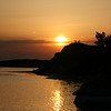 Sun going down over Stora Nassa (around 8:30 in the evening)