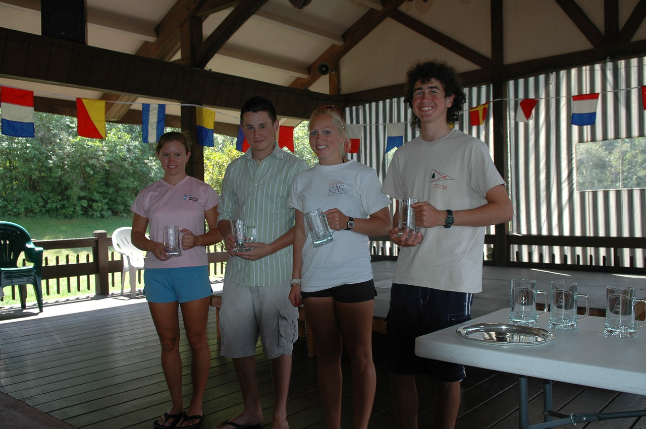Radial Winners (L-R): Danielle Prior (1st), Sam Dobbs (2nd), Carrie Dodd (3rd), Josh Bullock (4th)