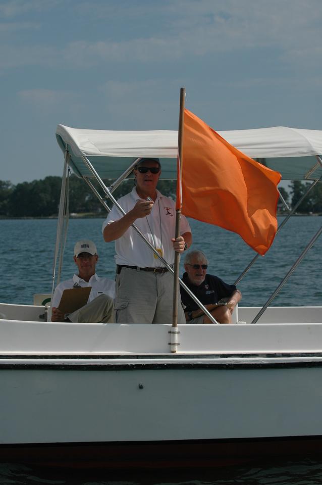 Tom Lakin, Rick Klein and David Hazlehurst aboard Mr. Roberts
