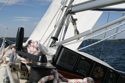First sail 2008