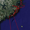 Google maps overview of the track we sailed. Zoomable version on website as usual.