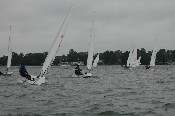 fleet heading back to the club at the end of the day.