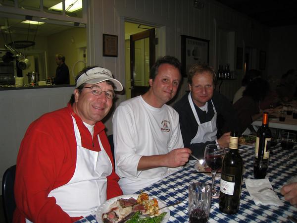 Henry Amthor, Brad Squires, John Hubbard
