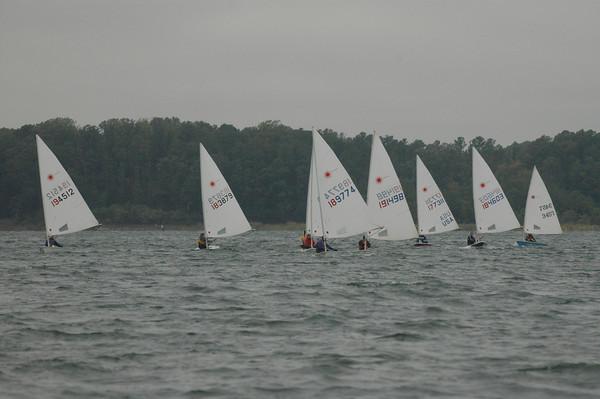downwind in race 2.