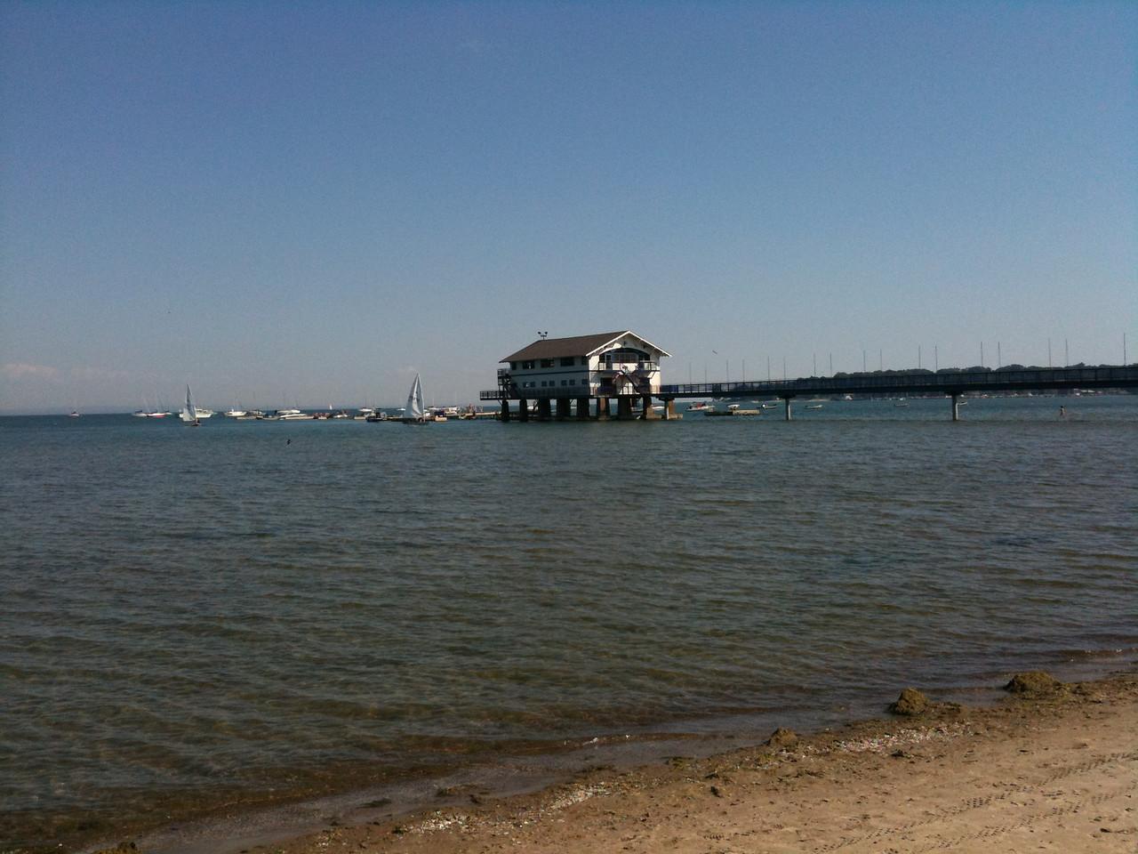 Boat House at the Buffalo Canoe Club