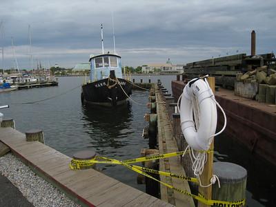 Tug boat parked at SSA.