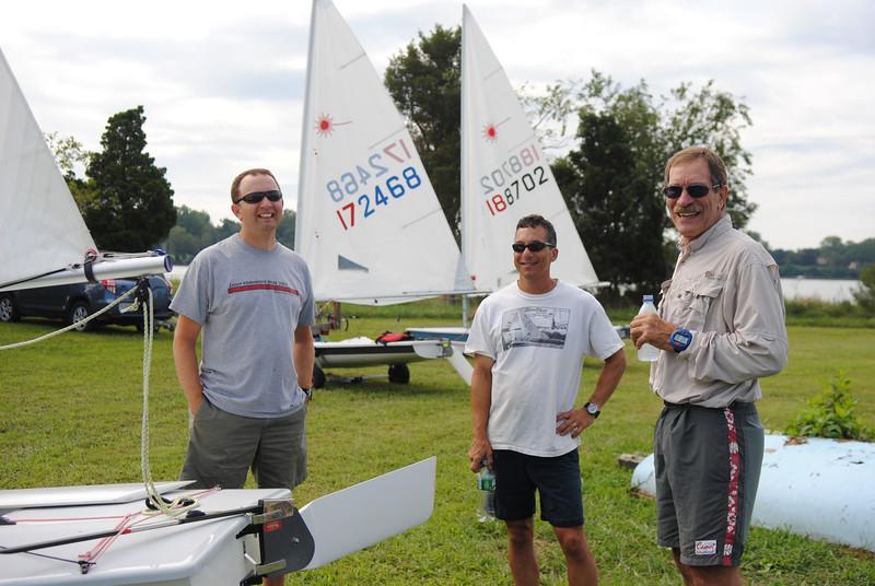 Ted Morgan, Bob Tan, Roger Link
