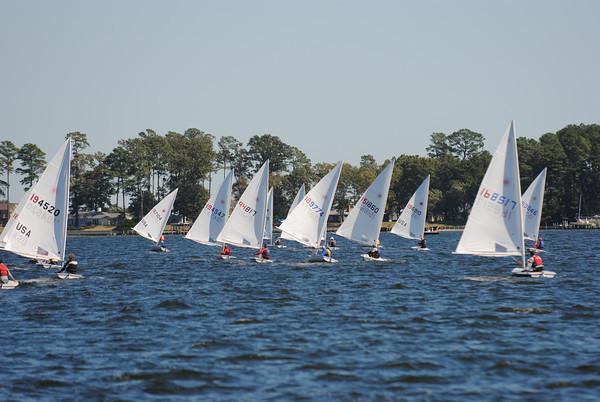 Fleet downwind