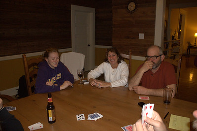 Rummy game #35435. Melissa, Kelley, Rick