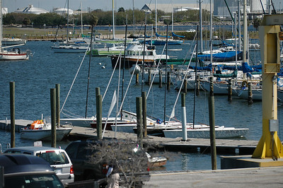 Front Runners docked at Davis Island Yacht Club