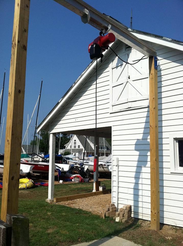 New hoist