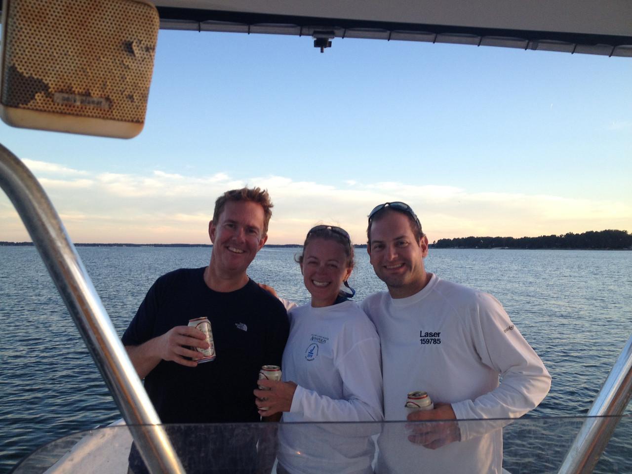 Richard, Melissa, Jon