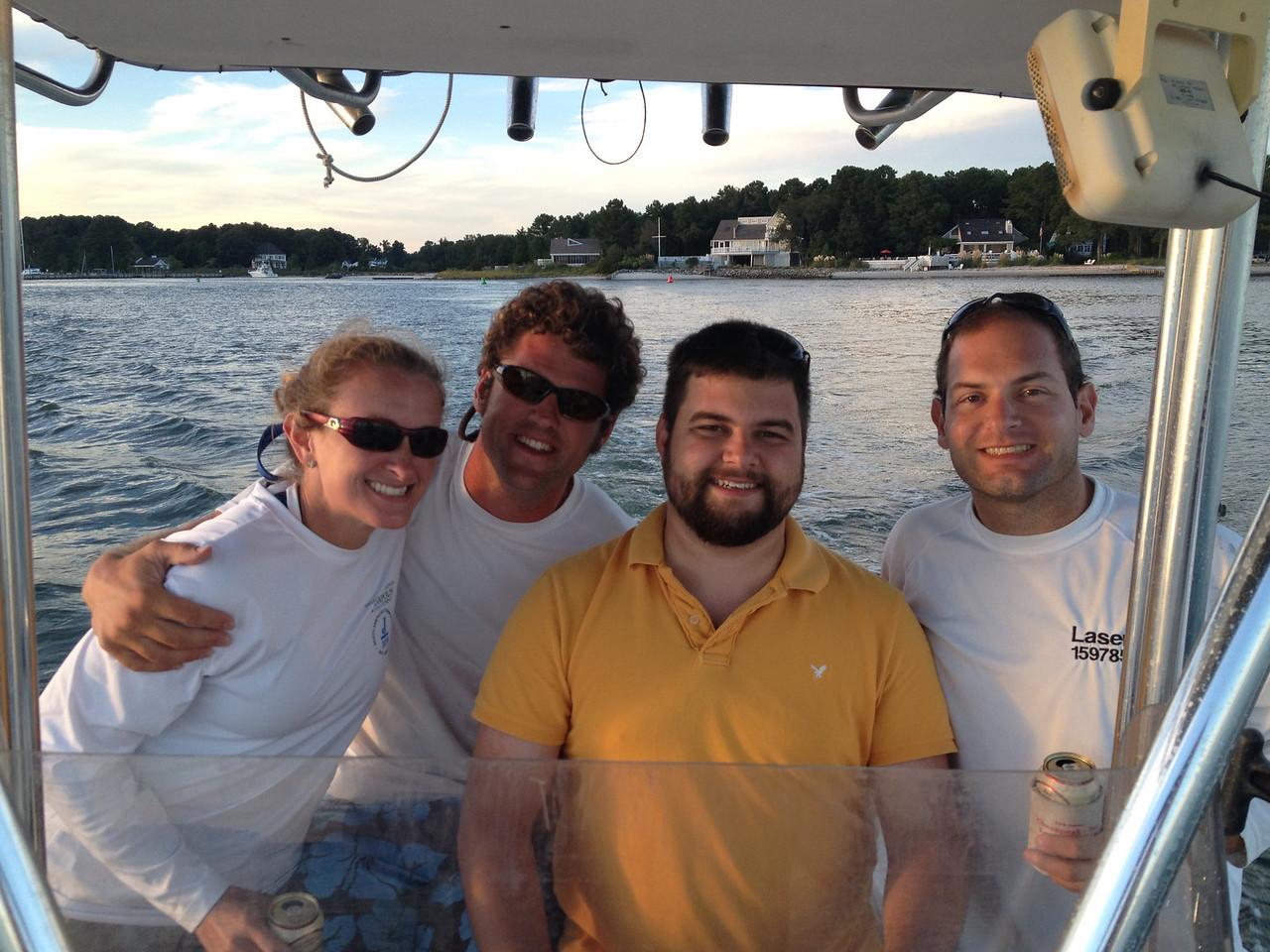 Melissa, Mark, Matt, Jon