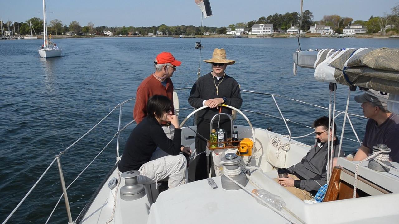 4/14 Opening Day Wavelength crew as we leave Jackson Creek.