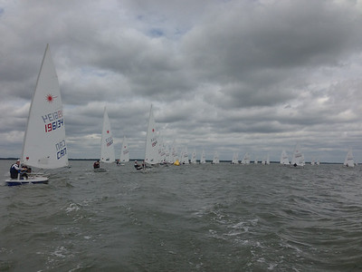 race 2: picture taken while on the reach.