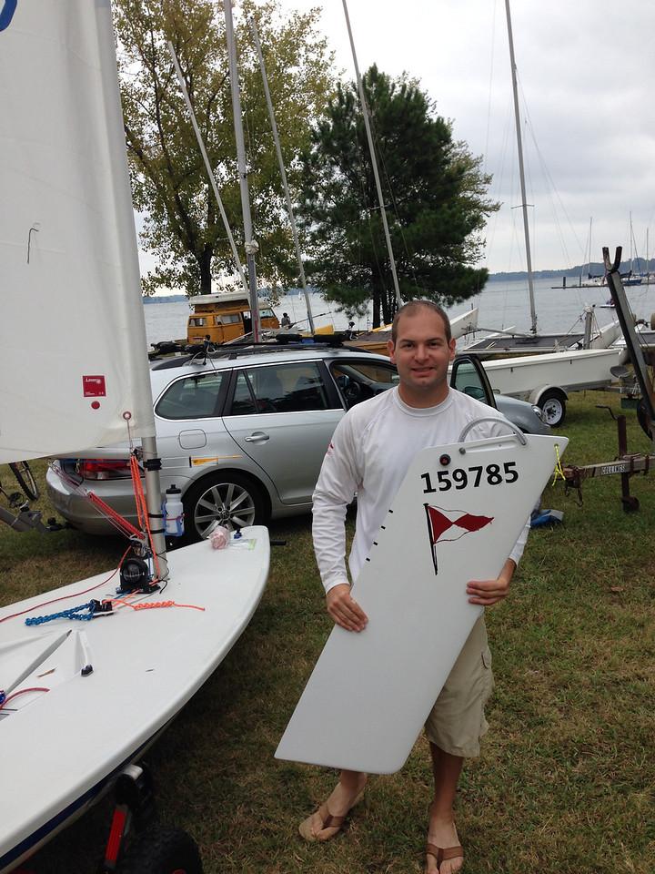 9/20 Lake Norman Yacht Club Board Bash Regatta  With my newly rebuild board.
