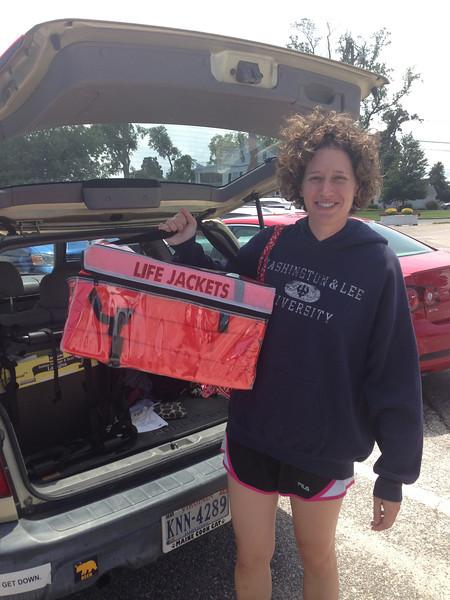 6/22 Hampton Team Race Scrimmage - Carol.