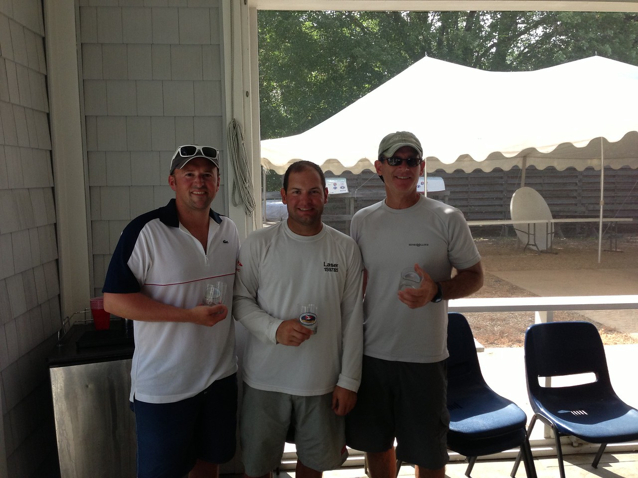 2/28 FBYC Laser Summer Regatta  Blake, Jon, Len