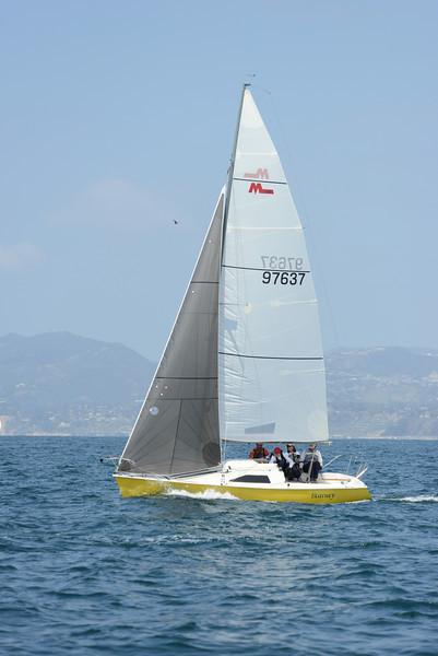 Spring Invitational Regatta, Sunday April 13, 2014, Marina del Rey, CA.