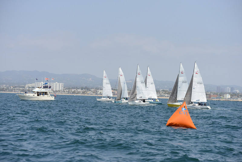 Spring Invitational Regatta, Saturday April 12, 2014, Marina del Rey, CA.