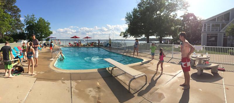 5/24 Open House Regatta FBYC pool