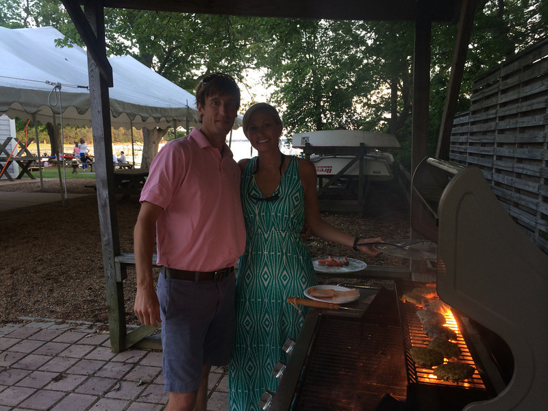5/23 FBYC Young Adult Member & Guest Cookout Mike Walsh, Christin Lipscomb
