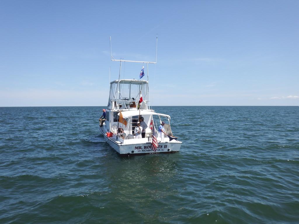 8/29 Stingray Point Regatta: Stingray Light Distance Race