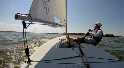 6/14 first sail in the new boat.