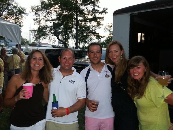 7/19 Becca, Jon, Matt, Laurie, Isabel