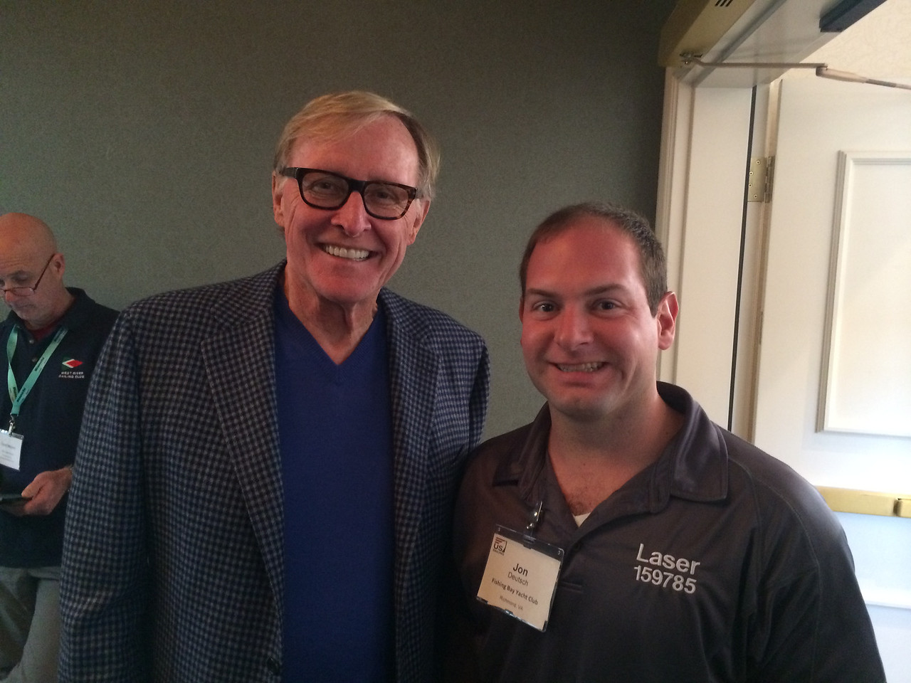 2/8 Jon with Silicon Graphics/Netscape Founder James Clark