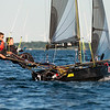 Evening sail in International 14