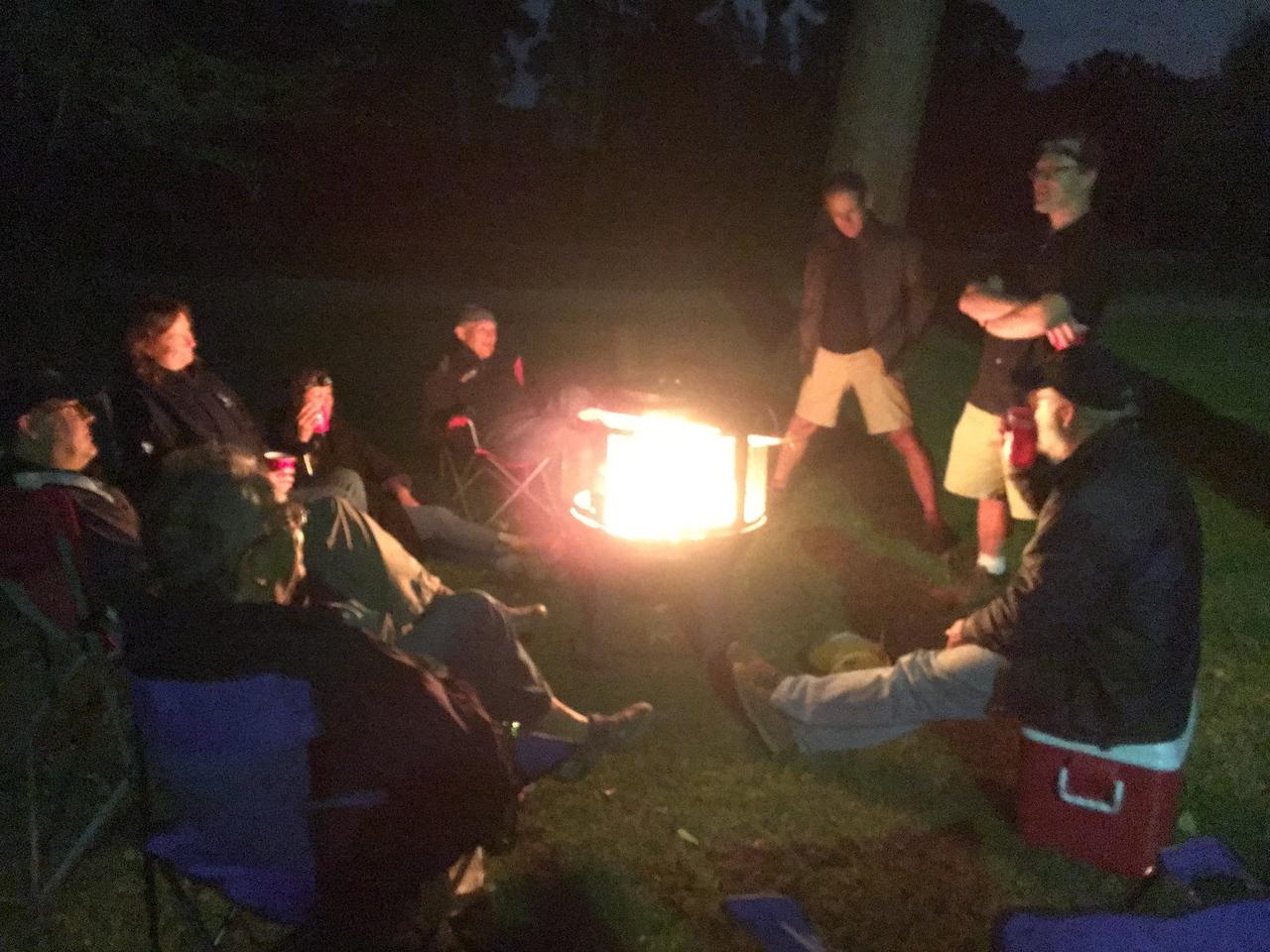campfire friday night.