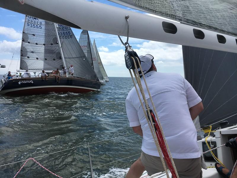 Cut Channel Race Start