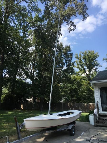 mast up