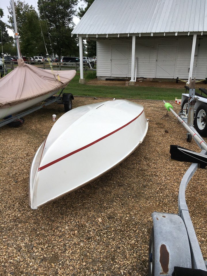 one last hull fix before splashing.