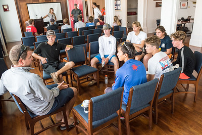 TORONTO, Ontario, August 25th 2018.  It's Day#2 of Youth Olympic Training Seminar (YOTS) at the Royal Canadian Yacht Club (RCYC). (Photo Credit Christian Bonin / TSGphot.com)