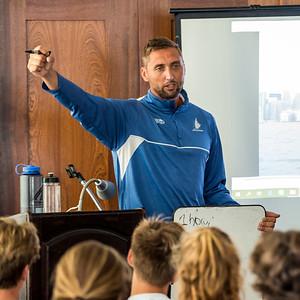 TORONTO, Ontario, August 26th 2018.  It's Day#3 of Youth Olympic Training Seminar (YOTS) at the Royal Canadian Yacht Club (RCYC). (Photo Credit Christian Bonin / TSGphot.com)