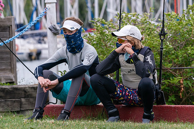 2020 Seahorse Laser Regatta hosted by ABYC