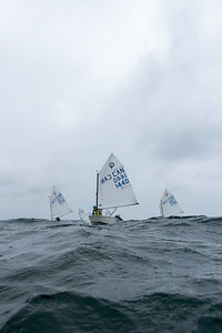 """JULY 17th, 2021 - MISSISSAUGA ONTARIO CANADA -  Sailors of all ages participate in the 2021 """"4 Sisters"""" regatta hosted by the Port Credit Yacht Club in Mississauga, Ontario. (Photo credit: Christian Bonin/TSGphoto.com)"""