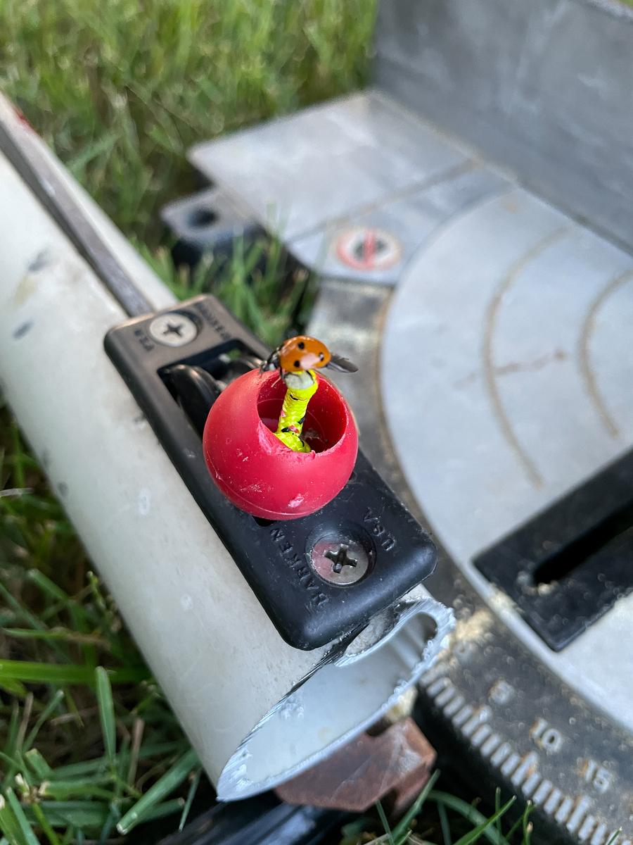Cut down Mast
