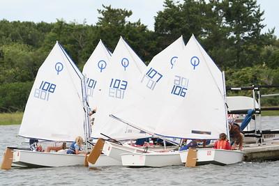 Aug.12,2008 Nantucket Race Week Opti Races