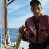 Shemaya sailing off of Tenants Harbor, Maine.  August, 2012.  Photo: Suzanne Jean