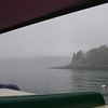 Coming out from Poorhouse Cove, John's Bay, Maine.  July, 2012.  And beautiful in the fog.  Photo: Shemaya Laurel