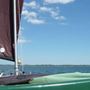 Approaching Fishers Island, New York.  May, 2012.