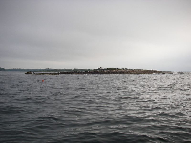 Stage Island Harbor, a few miles south of Biddeford, Maine.  July, 2012.  Photo: Shemaya Laurel