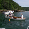 Rob and Bill, in their beautiful rowboat, Buck's Harbor, Maine.  Photo: Shemaya Laurel