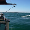 Approaching Cuttyhunk Island, Buzzards Bay, MA.