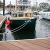 In Wickford Marina, all snugged up for hurricane Sandy. Oct, 2012